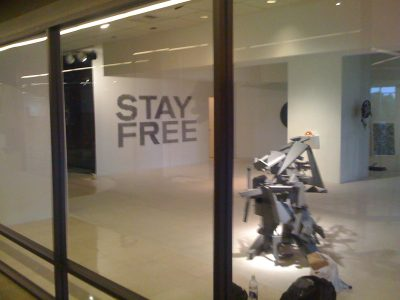 Stay Free | Counterspace